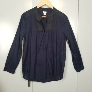 J.crew navy blue embroidered  size S  -C7